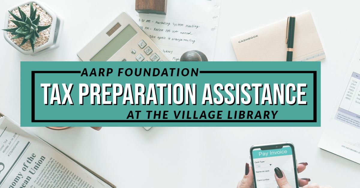 Free AARP Tax assistance is available