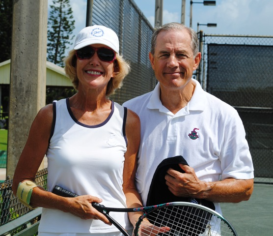 couple tennis
