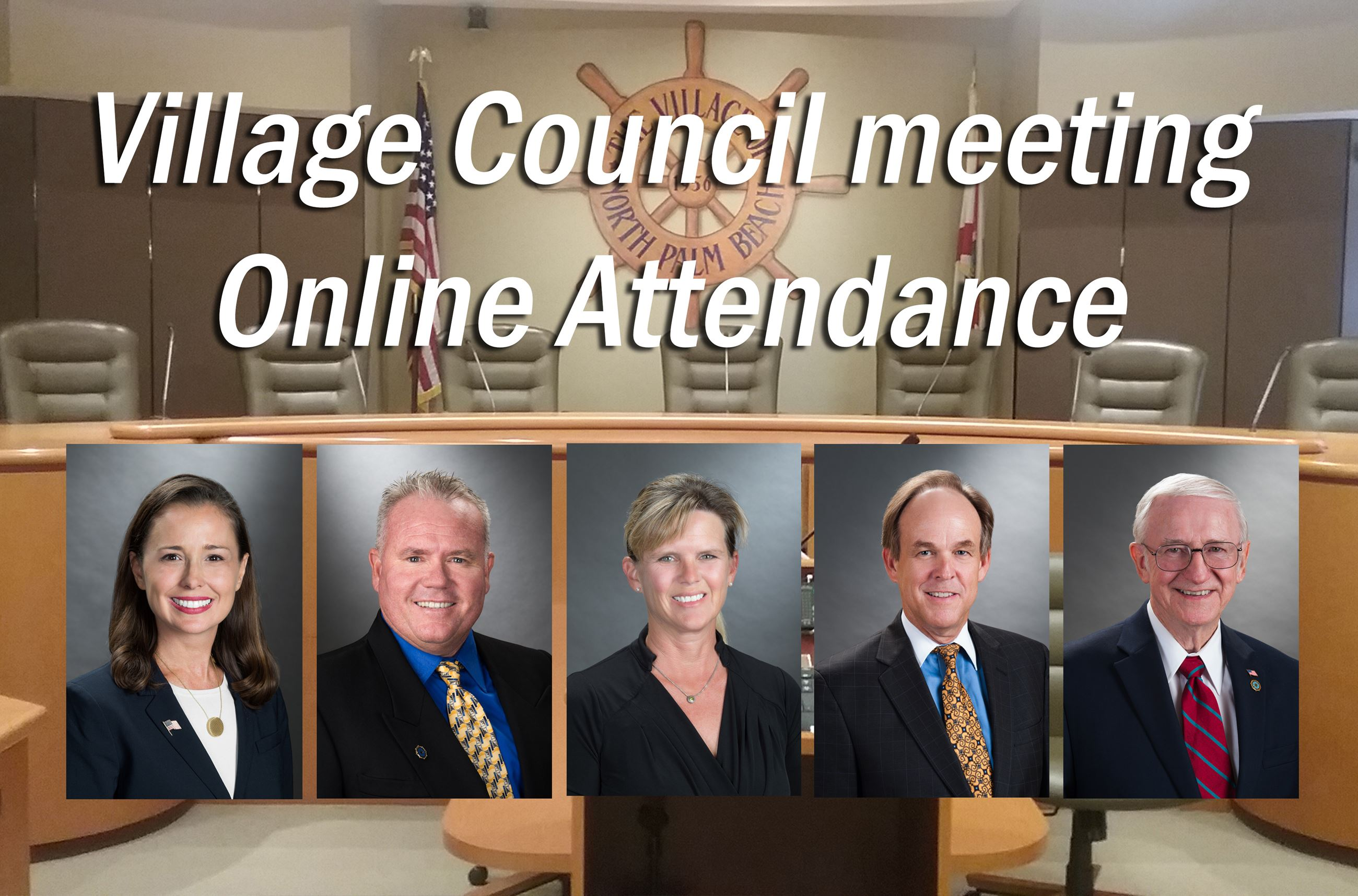 Council Virtual attendance composite