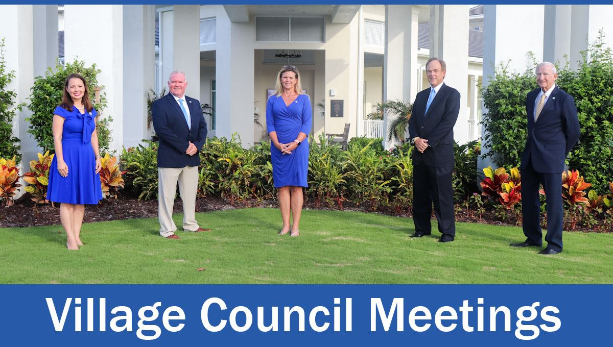 "Council standing outside Country Club. Text says, ""Our next meeting."""